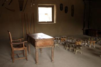 African teaching room