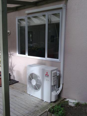 Air conditioner under window