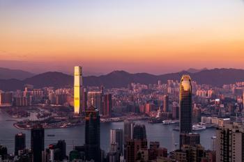Airel Photo of City Skyline