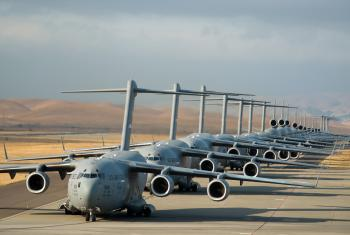 Airplanes in Line