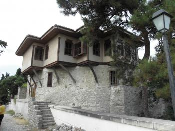 Ali Pashas house in Kavala, Greece