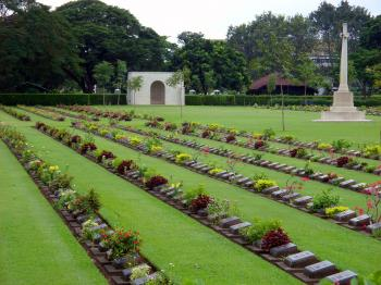 Allied Forces Cemetery, Thailand