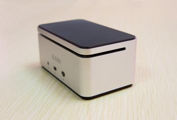 Aluminum portable wireless speaker