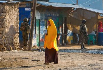 AMISOM Djiboutian Contingent in Belet Weyne 01
