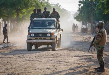 AMISOM Djiboutian Contingent in Belet Weyne 02
