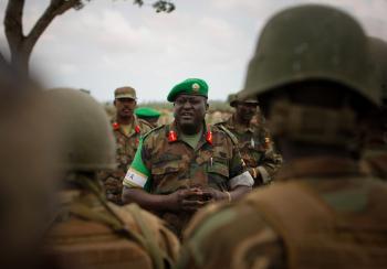AMISOM Force Commander tours Afgoye Corridor 03
