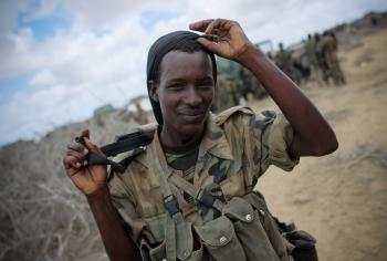 AMISOM forces in Saa'moja outside Kismayo 10
