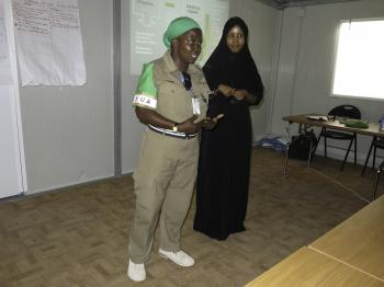 AMISOM Sensitizes it's Somali Language Assistants on Sexual exploitation and Abuse. -4