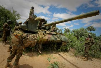 AMISOM & Somali National Army operation to capture Afgoye Corridor Day #3 03