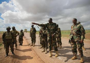 AMISOM & Somali National Army operation to capture Afgoye Corridor Day #4 22