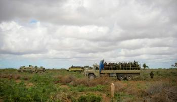 AMISOM & Somali National Army operation to capture Afgoye Corridor Day #5 11