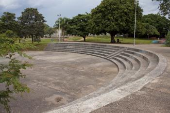 Amphitheater in a Park