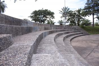 Amphitheater Seats up Close