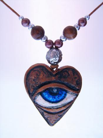 Amulet with eye
