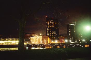 Amway at night