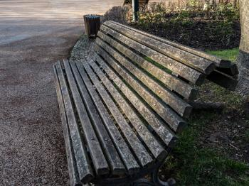 An old bench