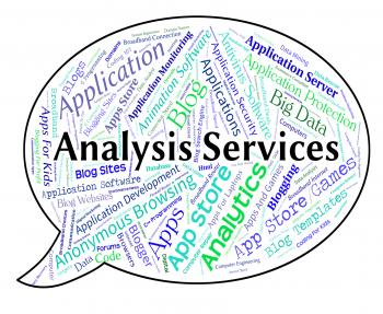 Analysis Services Represents Help Desk And Analyse