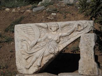 Ancient Greek Deity Artemis in Ancient City of Ephesus