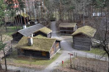 Ancient Norwegian buildings