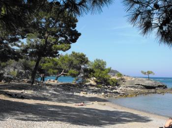 Ancient port of Phazelis