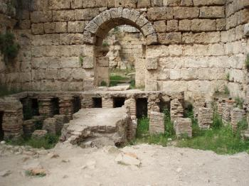 Ancient Roman bath in Perge