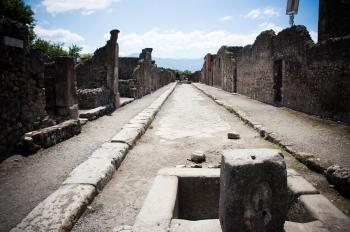 ancient Roman city of Pompeii
