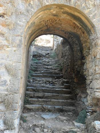 Ancient staircase from 2th century