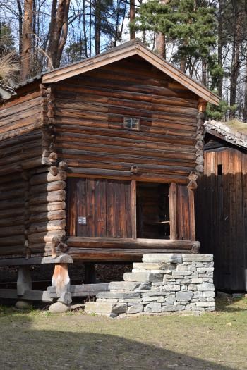 Ancient wooden building