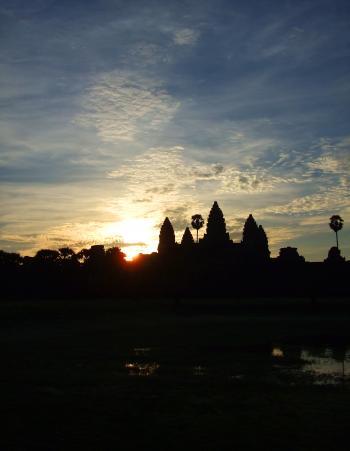 Angkor Wat at sunrise - Cambodia