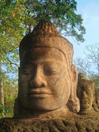 Angkor Wat Sculpture - HDR