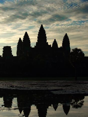 Angkor Wat temple at sunrise - Cambodia