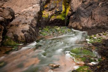 Annestown Beach Water Stream