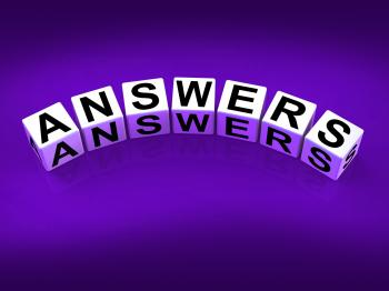 Answers Blocks Represent Responses and Solutions to Questions