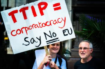 Anti-TTIP Protest 11-10-2014 - 02