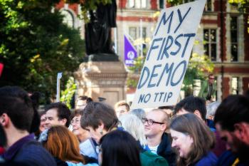 Anti-TTIP Protest 11-10-2014 - 10