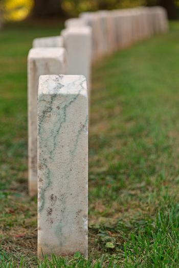Antietam Tombstones - HDR