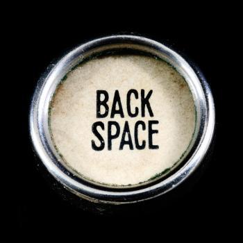 Antique Backspace Key