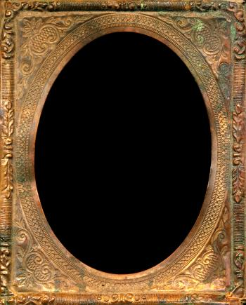 Antique Frame - Rusty Elegance