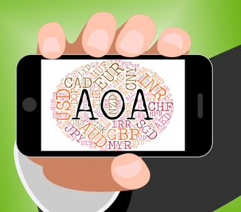 Aoa Currency Represents Worldwide Trading And Coinage