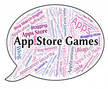 App Store Games Shows Retail Sales And Application
