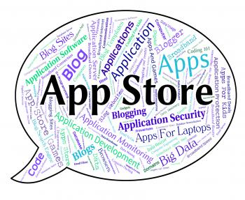 App Store Represents Retail Sales And Application