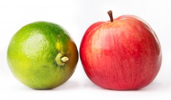 apple and lime