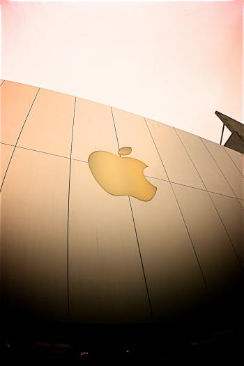 Apple Brand Logo Signage
