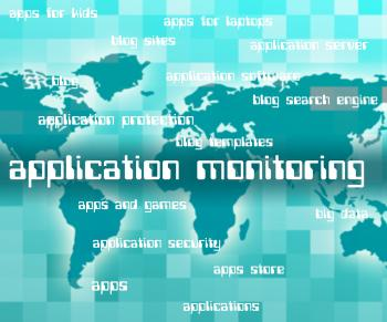 Application Monitoring Shows Observer Words And Apps