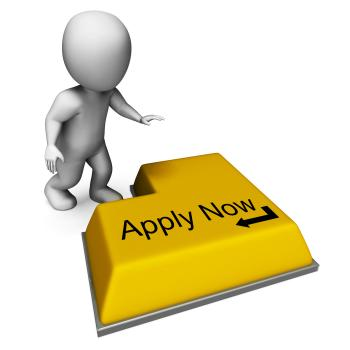 Apply Now Key Means Job Vacancy And Recruitment