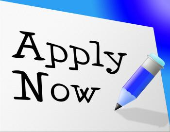 Apply Now Means Occupation Admission And Job