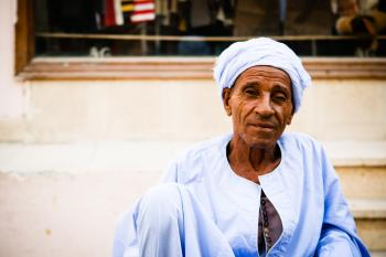 Arabic old man