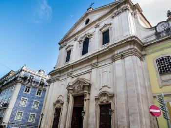 Architecture of Lisbon - church
