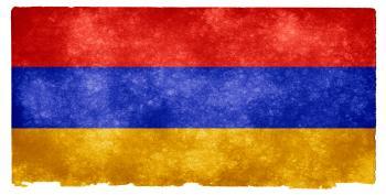 Armenia Grunge Flag