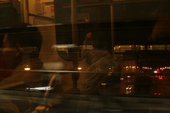 Arriving at Broadway Skyte at night - 03Jun2005